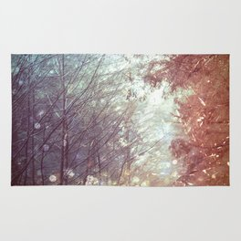 Magical Firefly Forest Rug