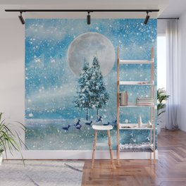 Winter Night 4 Wall Mural