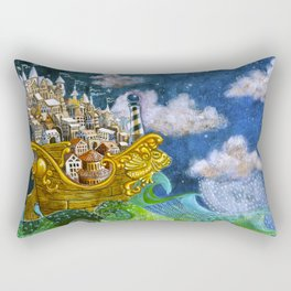H.M.S. Pomp & Circumstance Rectangular Pillow