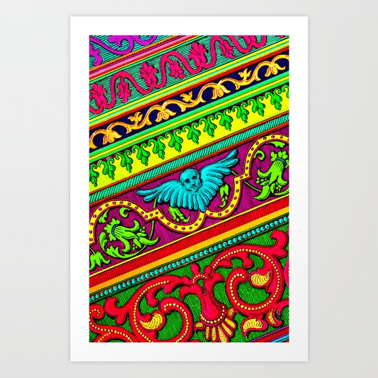 The Ornament of the Pop Palace 3 Art Print