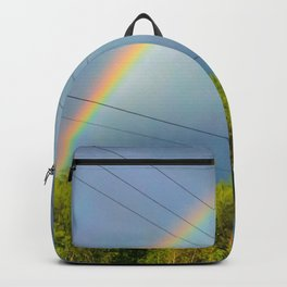 The railway into the dream Backpack