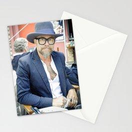 Parisian Mugshots - The Gaze (Gueules de Parisiens) Stationery Cards
