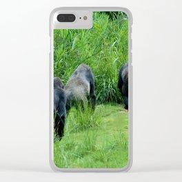 Ape Lunch Break Clear iPhone Case
