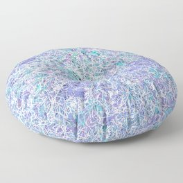 Cool Color Menagerie Floor Pillow