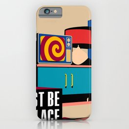 Talking Heads - This Must Be The Place iPhone Case