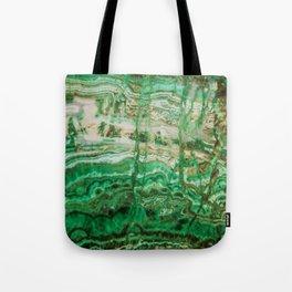 MINERAL BEAUTY - MALACHITE Tote Bag