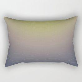 Shining Waves Rectangular Pillow