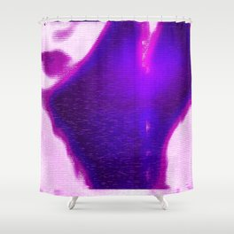 invocation overload Shower Curtain