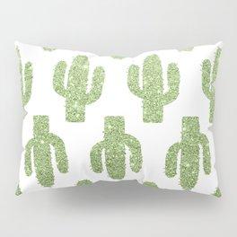 Glitter Cacti Pillow Sham