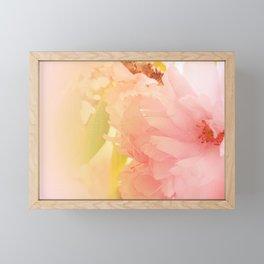 Cherry Blossom Glow Framed Mini Art Print