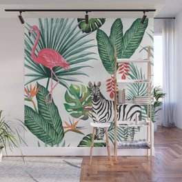 Nature Zebre pattern Wall Mural