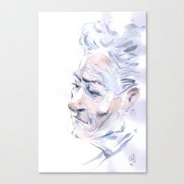 Portrait fantôme Canvas Print
