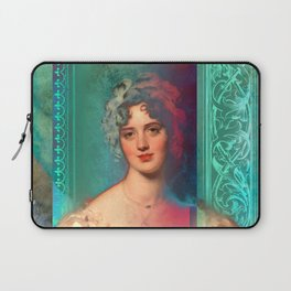 Quiet Porcelain Laptop Sleeve