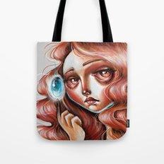 Soul Gem :: Red Headed Scamp Tote Bag
