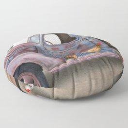 The Flock Spot Floor Pillow