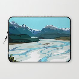 Dart River Valley, Glenorchy Laptop Sleeve