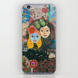 Paper Dollies - Couple iPhone Skin