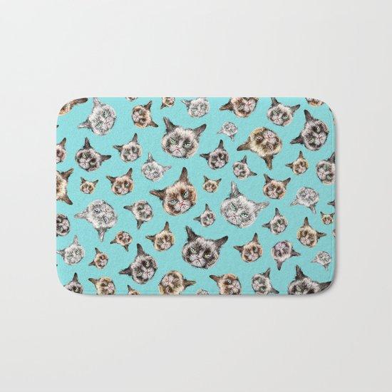 Cat Power Bath Mat