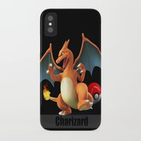 charizard iPhone & iPod Cases featuring Charizard by Yamilett Pimentel