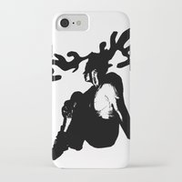 antler iPhone & iPod Cases featuring Antler by Maria Kate Betts