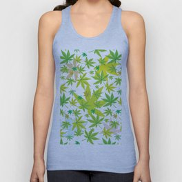 The World of Cannabis Unisex Tank Top