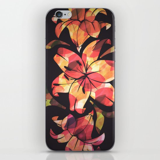 Lilium iPhone & iPod Skin