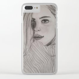 Because Your Eyes Said You Were Feeling It To Clear iPhone Case