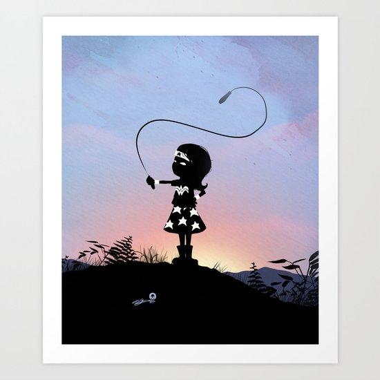 Wonder Kid Art Print