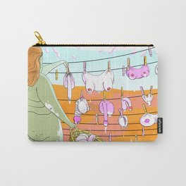 Laundry Carry-All Pouch