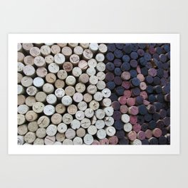 Too Many Corks Art Print