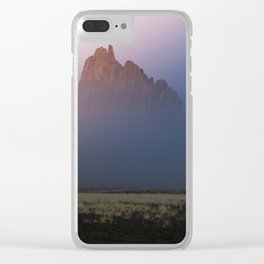 Hidden in the mist Clear iPhone Case
