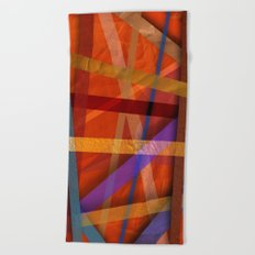 Abstract #366 Beach Towel