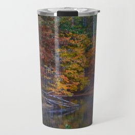 Autumn Foliage at Loch Raven Reservoir Travel Mug
