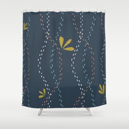 modern decor Shower Curtain
