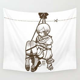 Lonely Doll Wall Tapestry