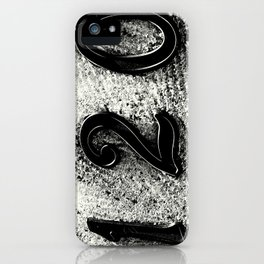 120 Numbers iPhone Case