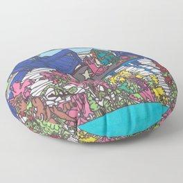 Beach Chairs Floor Pillow