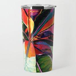 Kauai Croton Leaves Travel Mug