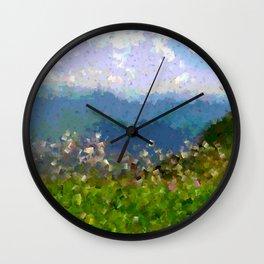Pyrenees Wall Clock