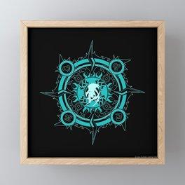 Ixion fayth Framed Mini Art Print