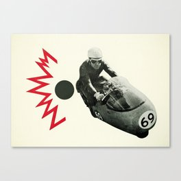 Motorcycle Madness Canvas Print
