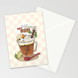 Hot buttered Rum Stationery Cards
