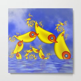 Fantasy Animals For Children Metal Print