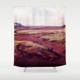 Nova Scotia, Canada  `Bay of Fundy' Shower Curtain