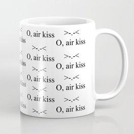 O, air kiss Coffee Mug