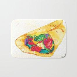 Burrito - Bon Appetit 10/XII Bath Mat