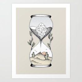 Time Is Running Out Art Print