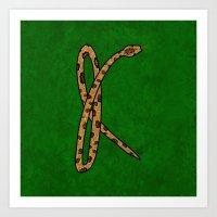 K for KAA Art Print