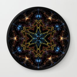 Full Spectrum Mandala Wall Clock