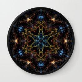 Full Spectrum Mandala Wall Clock